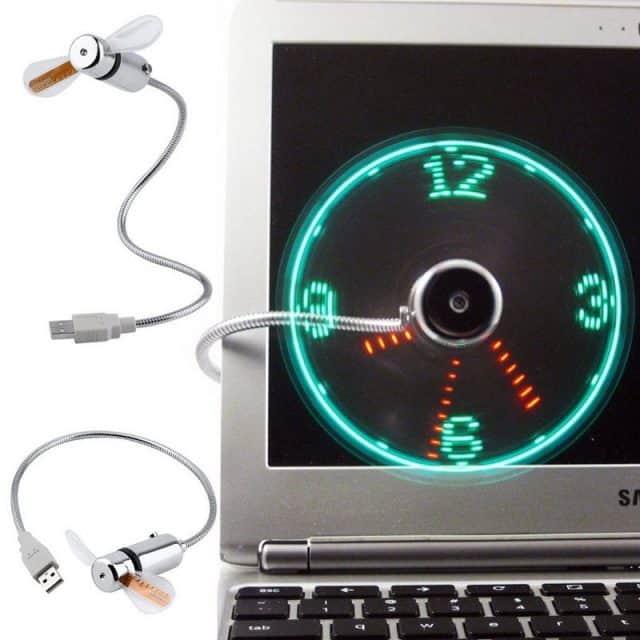 Cute Compact Flexible Adjustable USB Fan