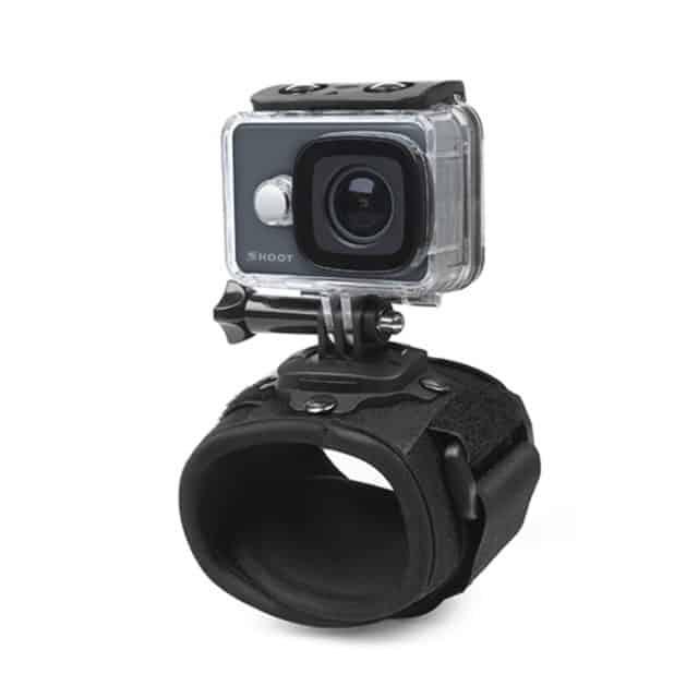 Adjustable Rotating GoPro Wrist Strap