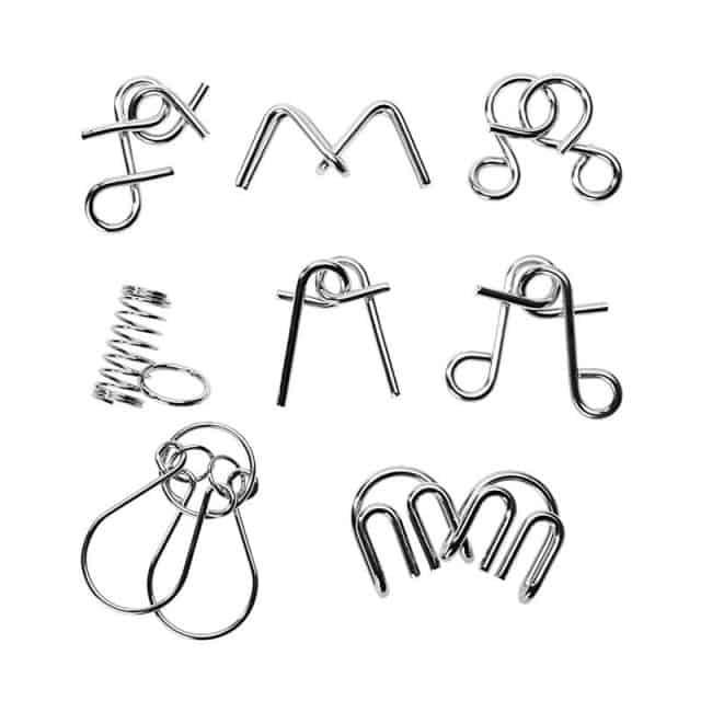 Metal Wire Brain Teaser